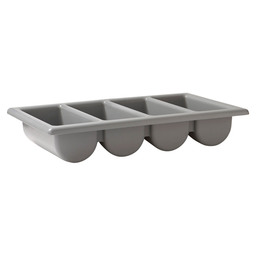 SILVERWARE CONTAINER 1/1GN GREY 4-VAKS