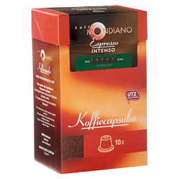 KOFFIE CAPSULES ESPRESSO INTENSO 5,2GR