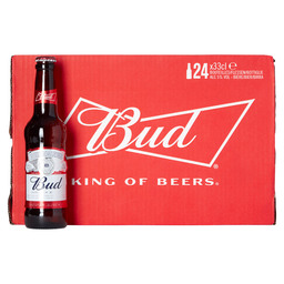 BUD USA - KING OF BEERS 33CL