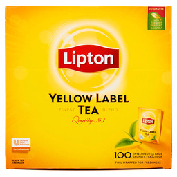 THEE YELLOW LABEL LIPTON PROF ENVELOP
