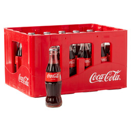 COCA COLA REGULAR 20CL GLAS