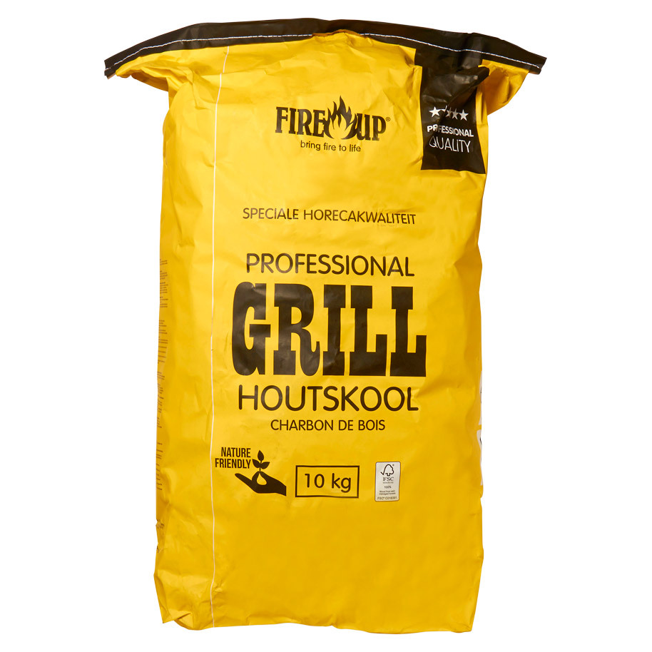 CHARCOAL CATERING YELLOW BAG