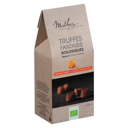 CANDIED ORANGE PEELS TRUFFLE