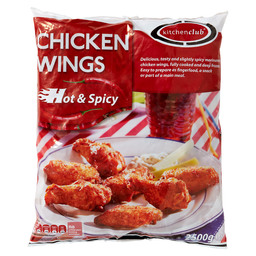 HÜHNCHEN WINGS HOT & SPICY