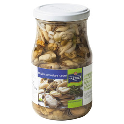PICKLED MUSSELS IN VINEGAR