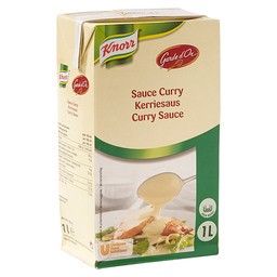 CURRY SAUCE GARDE D'OR