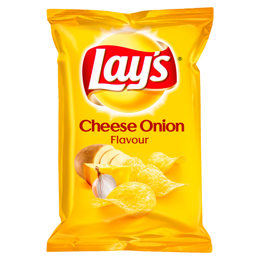 CHIPS CHEESE-ONION  40GR LAY'S