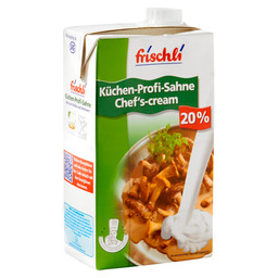 KITCHEN CREAM 20% ZS UHT SCREW TOP