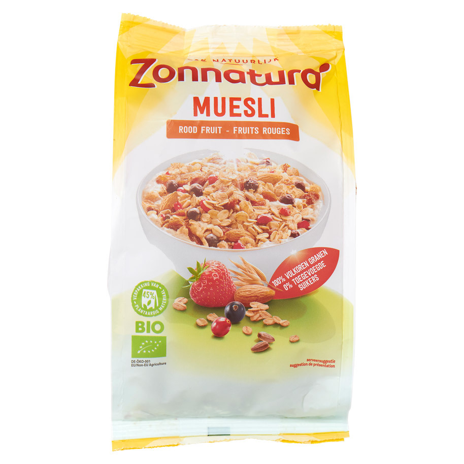 MUESLI ROOD FRUIT