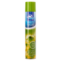 AIRFRESHENER SPRAY 400ML APPLE STEP