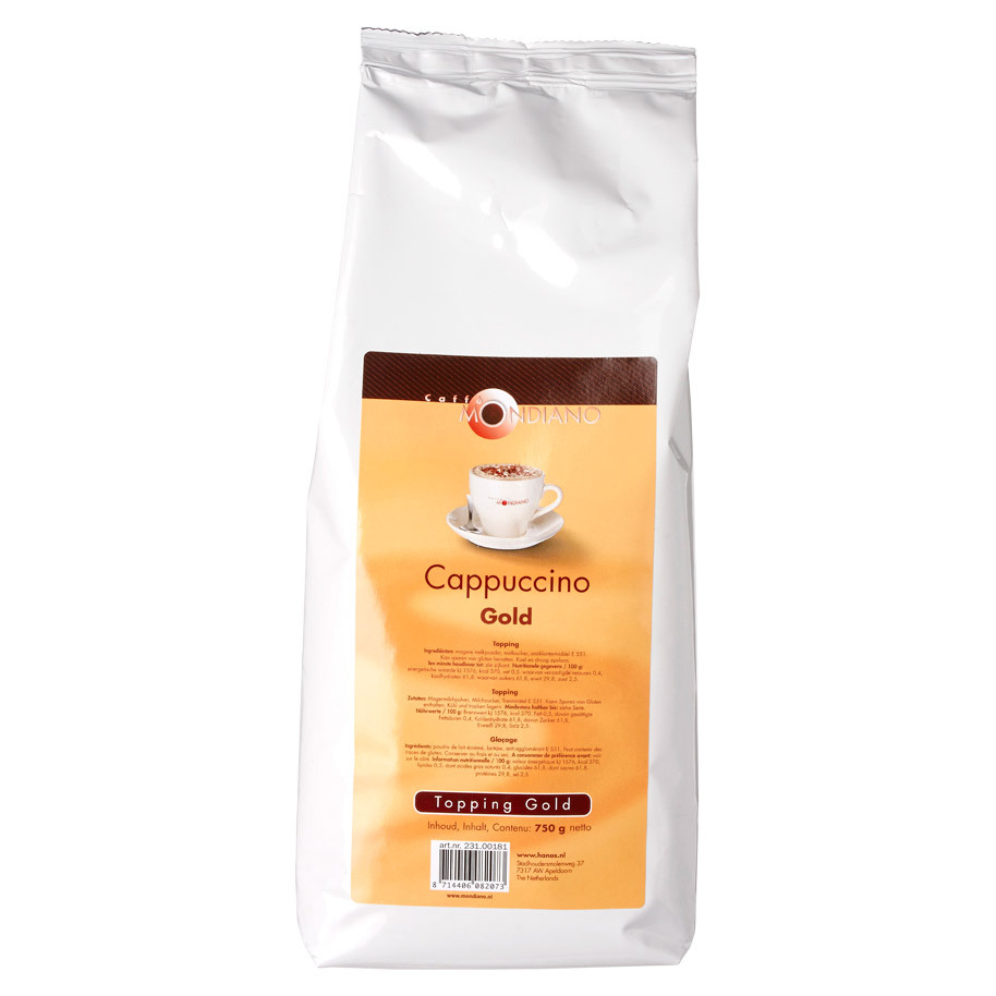 CAPPUCCINO TOPPING GOLD