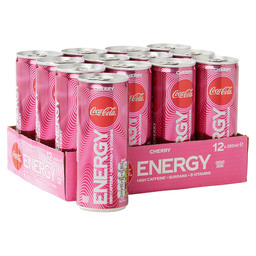 COCA COLA ENERGY CHERRY 25CL
