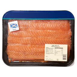 SALMON SMOKED SCOTTISH LONGSLICED MAP