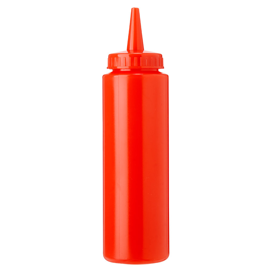 SQUEEZE BOTTLE 20CL RED