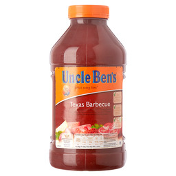 TEXAS BARBECUE SAUCE UNCLE BEN'S