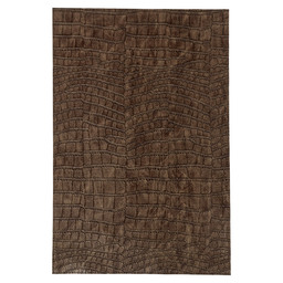 PLACEMAT 30X45CM CROCODILE LOOK BROWN