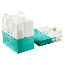 SNACK BAG COLOUR MIDDLE GREEN