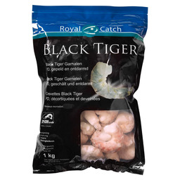 BLACK TIGER PEELED PRAWN RAW 21/25