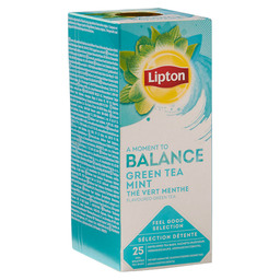 THEE GREEN TEA MINT LIPTON PROFESSIONE