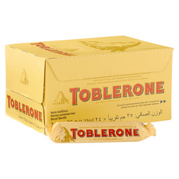 TOBLERONE COUNTER DISPLAY BOX 50GR