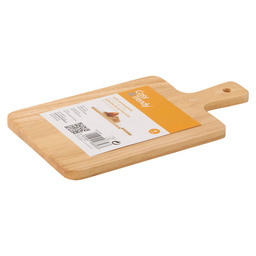 SERVING TRAY MINI 19X11CM RUBBER WOOD
