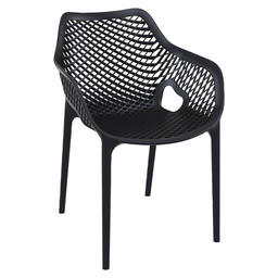 AIR-A ARMCHAIR - BLACK