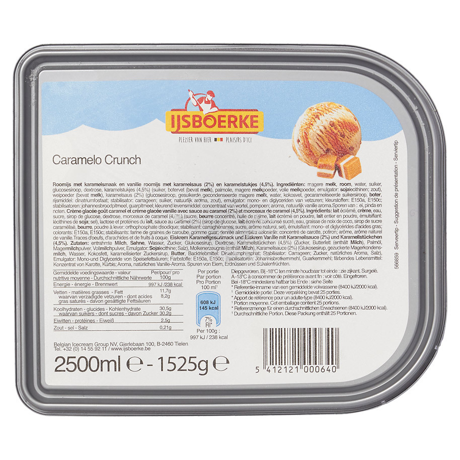 ROOMIJS CARAMELO CRUNCH