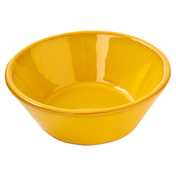 BOWL CONICAL  Ø11 X 4 CM MUSTARD