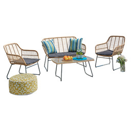 JAVA LOUNGESET - 4-PIECES