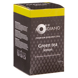 TEA GREEN/LEMON 1,8GR MONDIANO NL-BIO