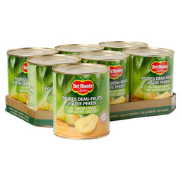 PEARS 1/2 850ML OP SYRUP DEL MONTE