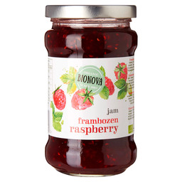 RASPBERRY JAM 45% FRUIT BIO