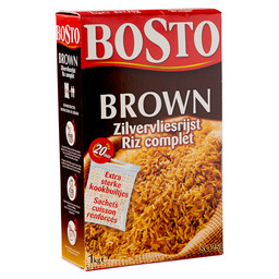 BOSTO BROWN RICE (8X125G)