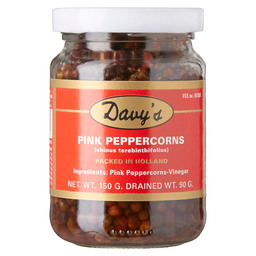 PEPERS ROZE NATUREL 90/150GR DAVY'S