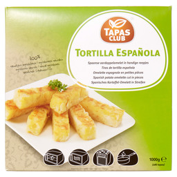 SPANISH TORTILLA RASHERS APP 81PC.