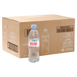 EVIAN BRONWATER 50CL