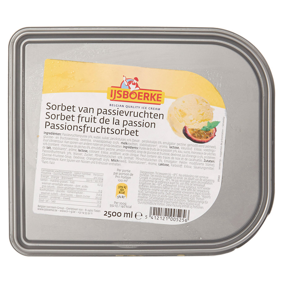 SORBETEIS PASSIONSFRUCHT