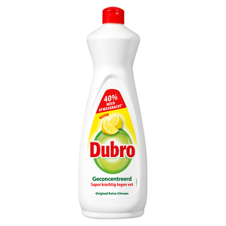 DUBRO AFWASMIDDEL EXTRA CITROEN 900ML