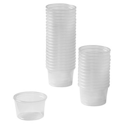 DRESSING CUP 30CC TRANSPARENT