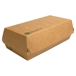 BAGUETTE BOX KRAFT 100% FAIR