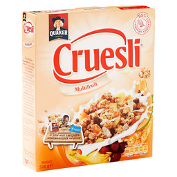 CRUESLI MULTIFRUIT