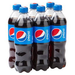 PEPSI COLA REGULAR 50CL PET