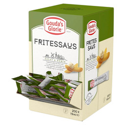 FRITESSAUS 25  19ML STICKS GOUDA'S GLO