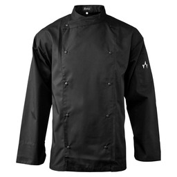 CHEF'S JACKET GAZZO BLACK MT L