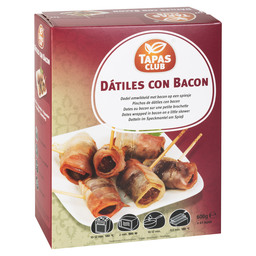 DADELS MET BACON CA 48ST.