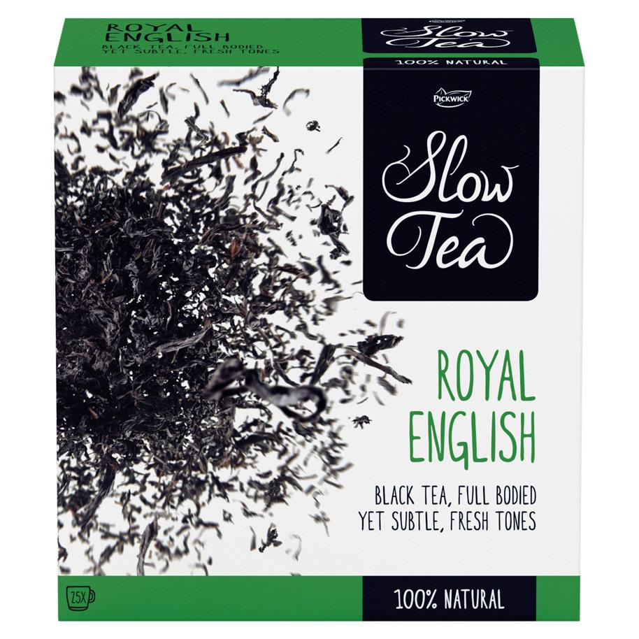 THEE ROYAL ENGLISH SLOW TEA