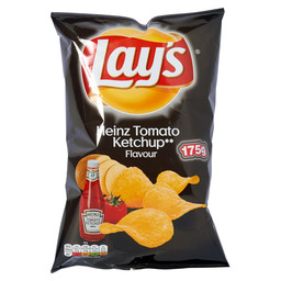 CHIPS HEINZ TOMATO KETCHUP LAY'S