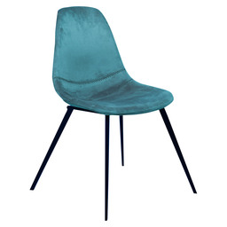 LOGAN CHAIR - GREEN VELVET