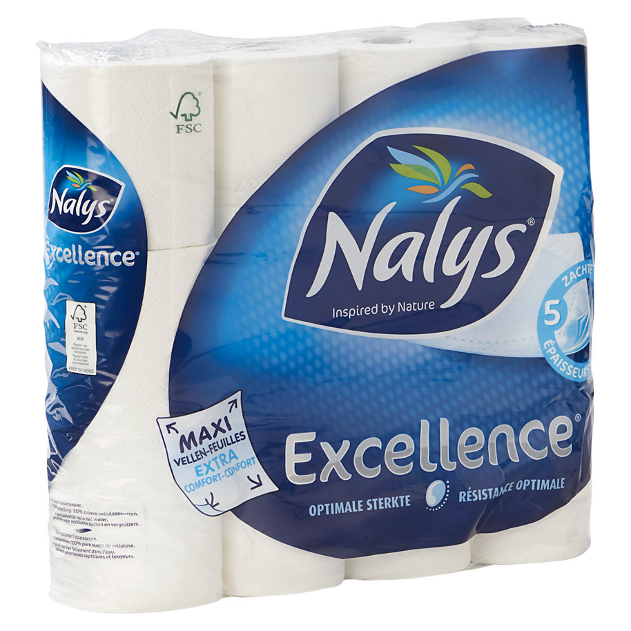 TOILETPAPIER EXCELLENCE MAXI 5-LAAGS