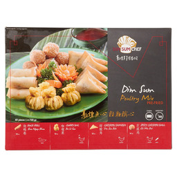 DIM SUM POULTRY MIX FRITUREN/OVEN